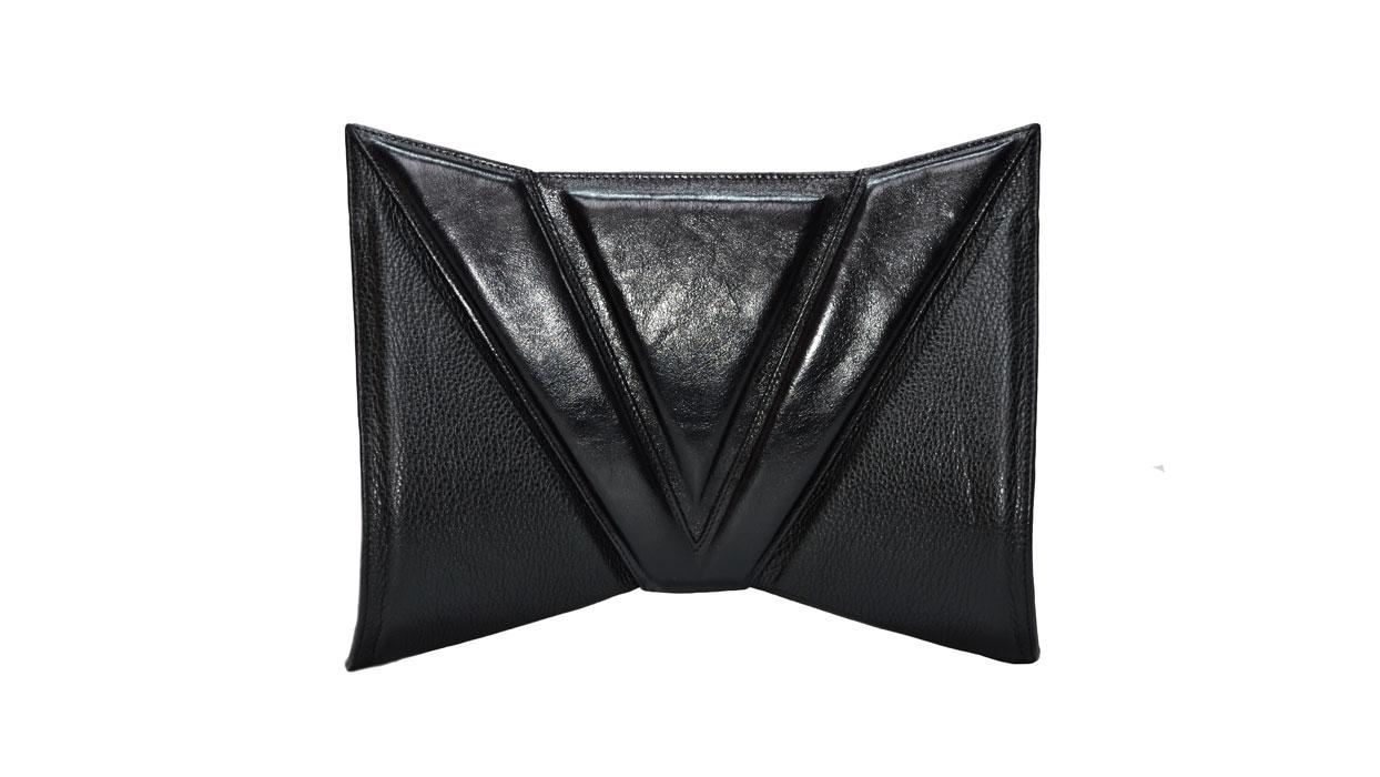 Helen space clutch bag
